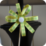 Ribbon Skewer Flower