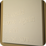 Wall Art with Saying