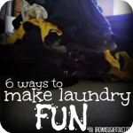 make laundry fun