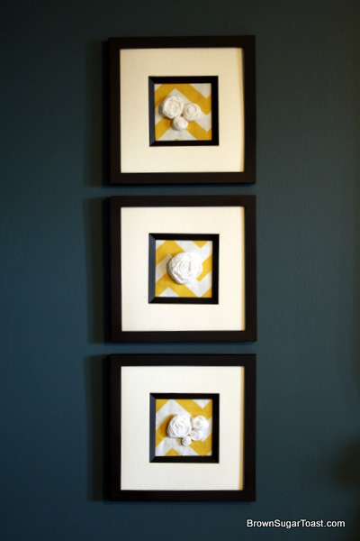 3 picture frames on wall brick wall and guest room wall art brown sugar toast