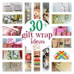 gift wrap ideas via bst