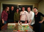 BBC gingerbread house