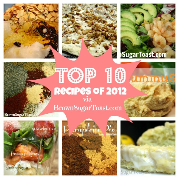 top 10 recipes 2012