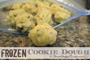 Frozen Cookie Dough