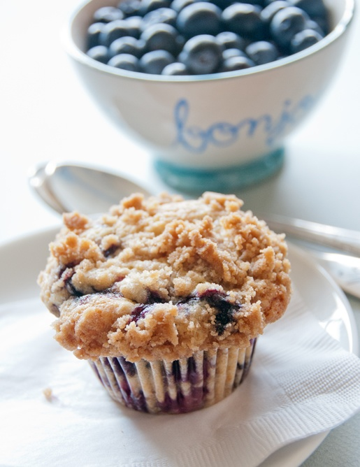 blueberry almond coffeecake