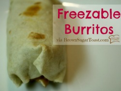 Freezable Burritos
