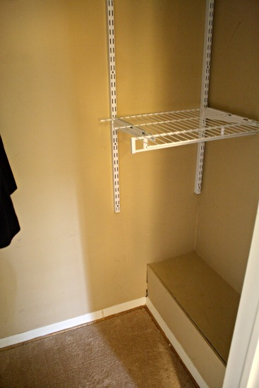 right side closet