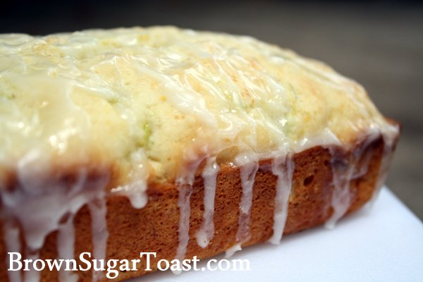 Zucchini Lemon Loaf - oh so moist with the perfect glaze!
