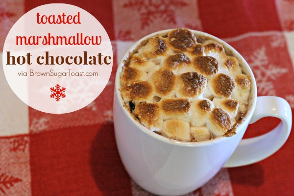 Toasted Marshmallow Hot Chocolate - just add marshmallows & broil ...