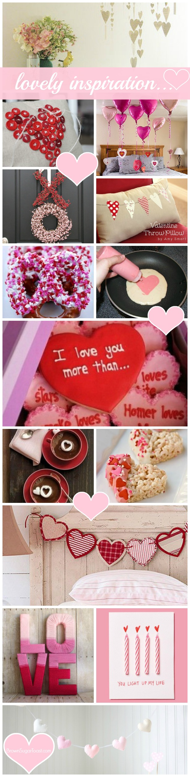 Lovely Valentine Inspiration from BrownSugarToast.com