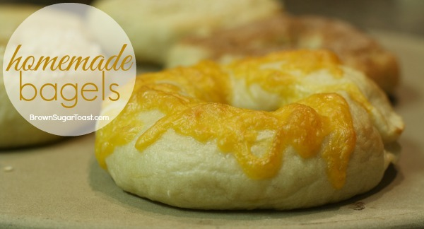 Delicious homemade bagels recipe that puts store-bought bagels to shame!! SO yummy!