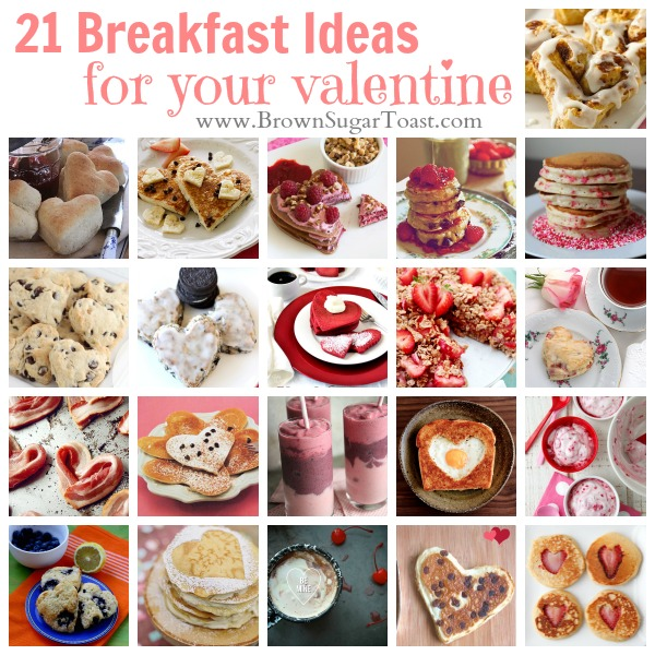 21 Breakfast Ideas For Your Valentine
