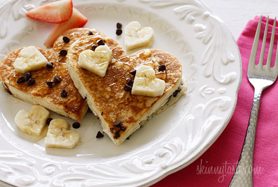 Low-Fat-Chocolate-Chip-Banana-Pancakes