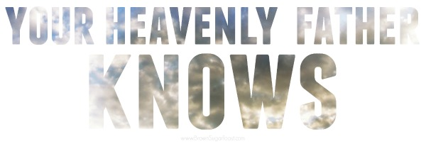your heavenly father knows