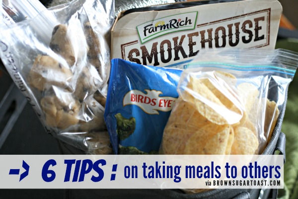 6 tips on taking meals to others