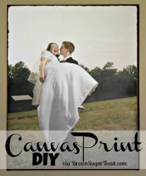 Happily Ever After DIY Canvas